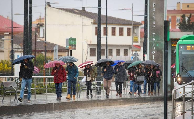 Más de 20 días con lluvias en la provincia de Granada