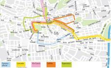 Guía de Martes Santo en Granada: mapa de horarios, itinerarios y recorridos de las procesiones