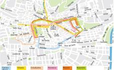 Guía del Miércoles Santo en Granada: mapa de horarios, itinerarios y recorridos de las procesiones