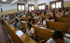Una selectividad similar al año pasado y 11.000 plazas para alumnos de primero