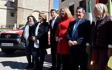 El Consorcio Provincial dota al Parque de Bomberos de Motril de tres nuevos vehículos