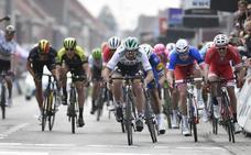 Sagan se lleva por tercera vez la Gante-Wevelgem