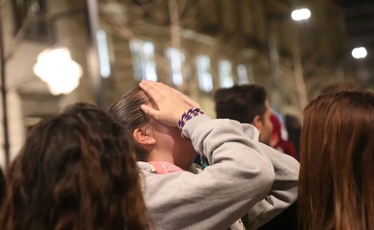 Lágrimas por la suspensión de La Lanzada