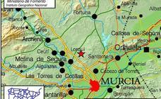 Un pueblo de Murcia se despierta con un terremoto de magnitud 3