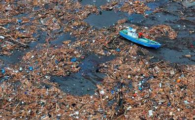 La isla plástica del Pacífico equivale ya a Francia, España y Alemania juntas