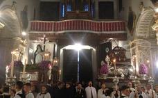 El Santo Entierro no sale de su templo por el mal pronóstico del tiempo