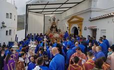 La Piedad ya procesiona en Almuñécar