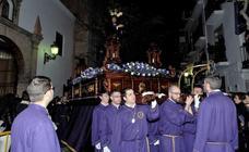 Lanjarón procesionó el Jueves Santo la imagen de Nuestro Padre Jesús Nazareno