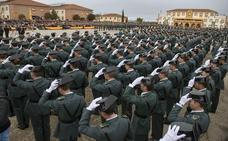 La Academia de la Guardia Civil de Baeza superará los 2.000 alumnos