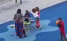Indignación en la Red por la agresión de dos menores a un niño negro en un parque infantil de Bilbao