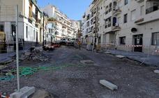 El Ayuntamiento de Albuñol adecenta la Avenida de Andalucía y la dota de una red de pluviales