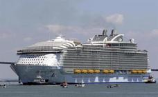 "Aviso de ""hombre al agua"" tras caer desde un crucero que navegaba cerca de Cartagena"