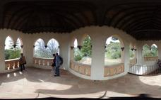 El Mirador Romántico de la Alhambra en 360 grados como nunca se ha podido ver