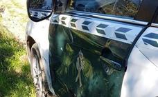 Dos guardias civiles heridos embestidos por un coche cargado con droga en Cádiz