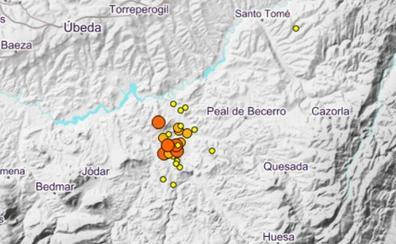 21 terremotos en menos de 24 horas entre Jódar, Larva y Peal