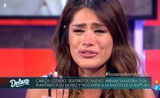 El drama de Miriam Saavedra: la ex de Carlos Lozano se derrumba