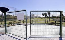 Así está el campo de golf de Playa Granada