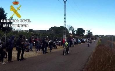 El accidente mortal en una carrera ilegal de motos acaba con seis detenidos