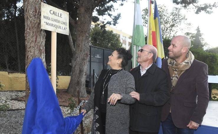 Ogíjares ya cuenta con una calle con el nombre de la artista granadina 'Mariquilla'