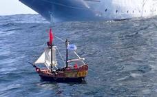 El hito de dos hermanos escoceses: lanzaron hace un año un barco pirata de Playmobil al mar y ahora va por Sudamérica