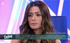 «No soy tonta, voy a demostrar que puedo ser colaboradora», Miriam Saavedra, el nuevo fichaje de 'Sálvame'