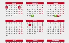 Puente de mayo en el calendario laboral: ¿son festivos el lunes 30 y martes 1?