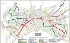 La última propuesta para cambiar los autobuses en Granada 'tira' la línea 5 por el Centro y crea una nueva: el 25