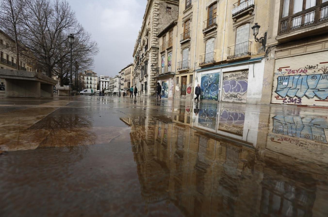 Así fue la última lluvia de barro que cayó en Andalucía