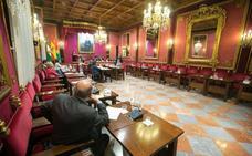 Duelo por García Lorca en el Ayuntamiento