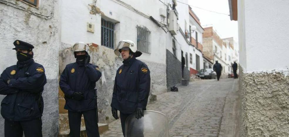 Siete detenidos por el tiroteo de la calle San Rufino