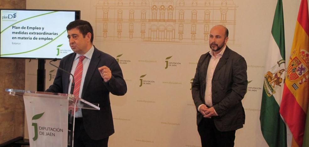 La Diputación cifra en 77 millones la inversión en empleo en los últimos tres años