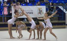 La gimnasia rítmica 'invade' Almería con el torneo Stella Maris