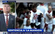 Gran bronca entre Mabel Lozano y el abogado de la 'Manada' en 'Espejo Público: «Que no vuelva a llamarles violadores»