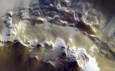 El descubrimiento de hielo en Marte acerca la posibilidad de vida