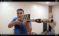 La Audiencia confirma la pena al youtuber de Marmolejo por tener armas prohibidas