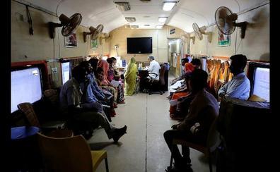 El milagroso 'tren hospital' que salva vidas