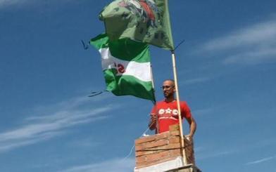 El SAT desafía a la Justicia y ocupa de nuevo el cerro del Aguardentero