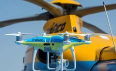 Así te va a vigilar la DGT desde el cielo este verano con 10 helicópteros y 5 drones