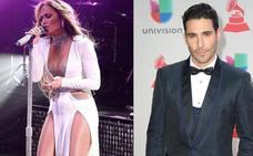 El cariñoso gesto de Miguel Ángel Silvestre a Jennifer López, la pareja de moda