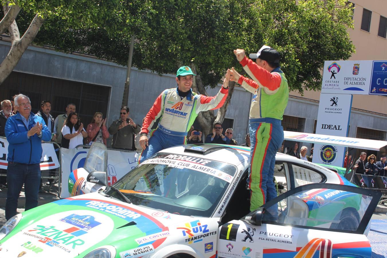 José Antonio Aznar recupera el trono del Rallye Costa de Almería