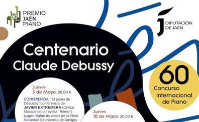 El 60 Premio Jaén de Piano homenajea al compositor francés Debussy con motivo del centenario de su muerte