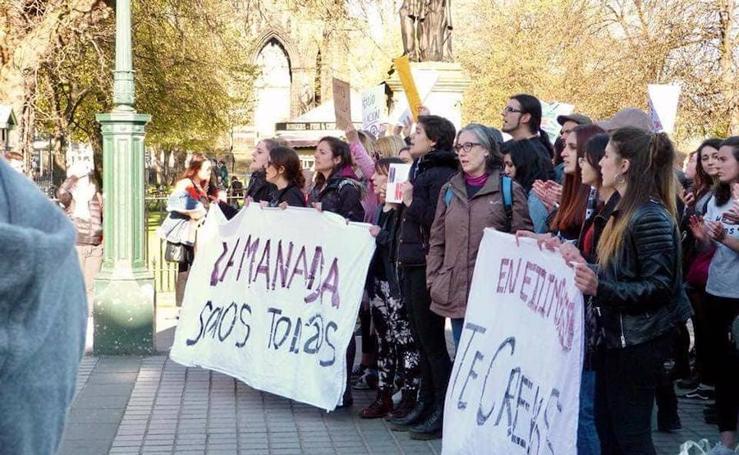 Una granadina hace que Edimburgo se levante contra la sentencia de La Manada