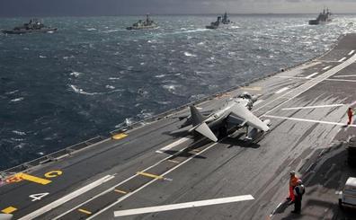 El mayor buque de guerra español zarpa a la misión de Irak
