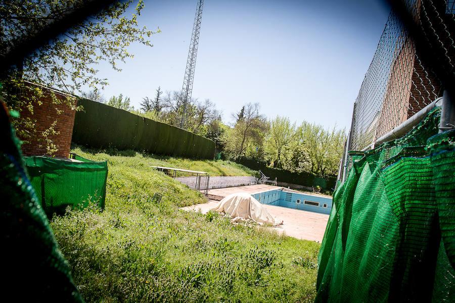 La piscina de Fuentenueva, abandonada