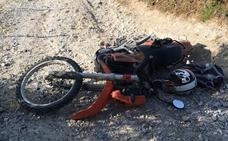 Dos días en UCI y un pulmón perforado tras caer en una 'trampa' colocada en un camino