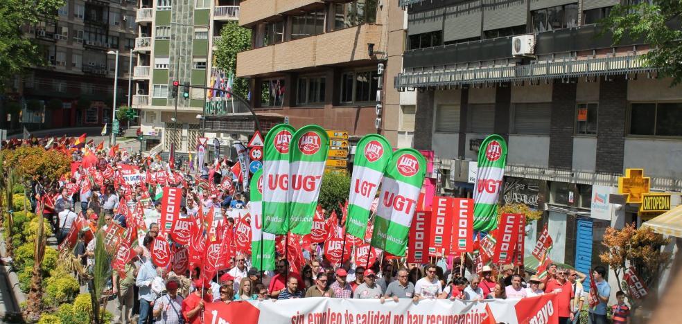 1 de Mayo centrado en la igualdad y las pensiones