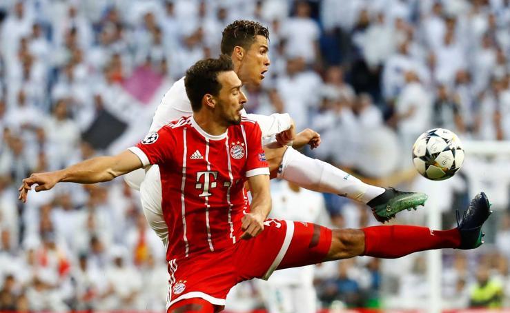 Real Madrid-Bayern de Múnich, en imágenes