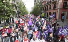 Granada reclama «mejor empleo y unas pensiones dignas»