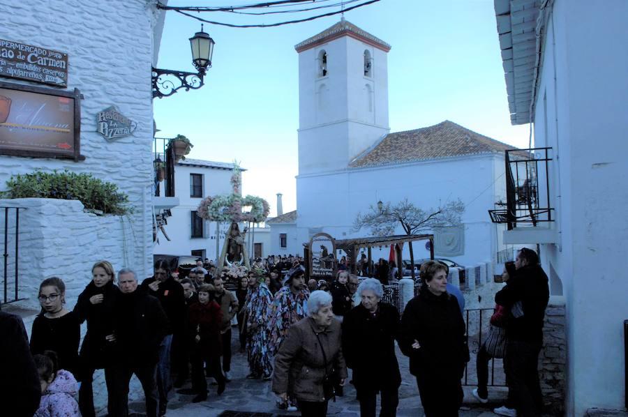 Fiestas de la Virgen de la Cabeza en Capileira