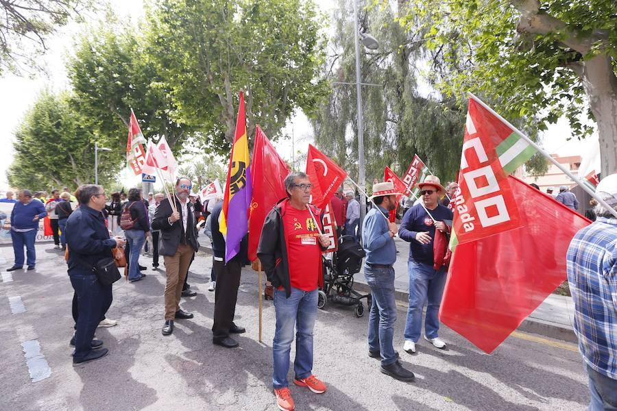 Manifestación del Primero de Mayo en Motril
